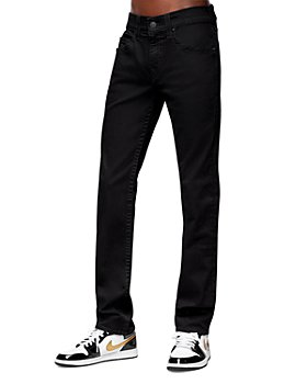 True Religion - Geno Slim Fit Jeans in Body Rinse Black