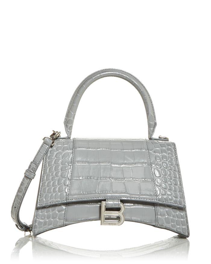 Balenciaga Hourglass Top Handle Bag    Bloomingdale's