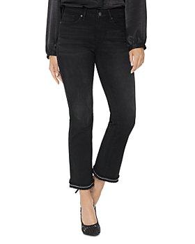 NYDJ - Barbara Embellished Hem Ankle Jeans in Glory