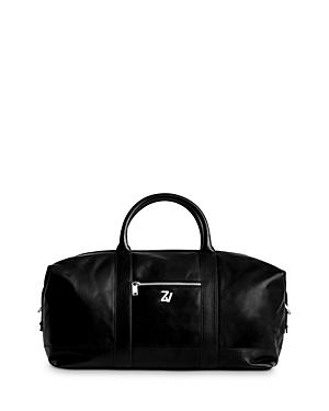 Zadig & Voltaire Leather Travel Bag-Men