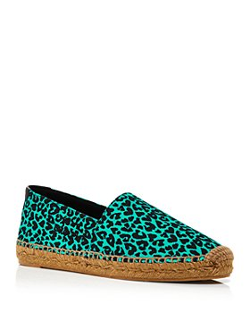 Saint Laurent - Women's Espadrille Slip On Signature Flats