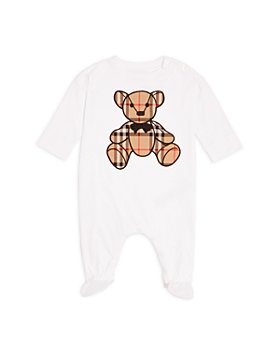 Burberry - Unisex Thomas Bear Appliqué Footie - Baby