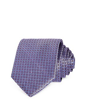 The Men's Store at Bloomingdale's - Dot Grid Neat Silk Classic Tie - 100% Exclusive