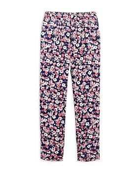 AQUA - Girls' Floral Pants, Big Kid - 100% Exclusive