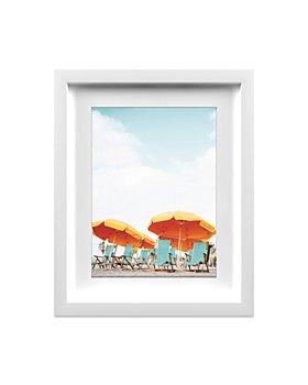"Whom Home - Orange Beach Wall Art, 13"" x 16"""