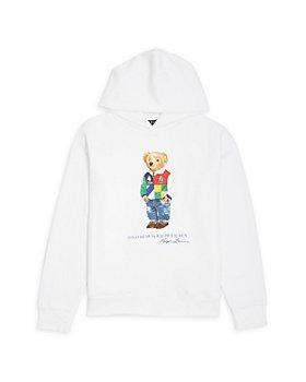 Ralph Lauren - Boys' Polo Bear Hoodie - Little Kid, Big Kid