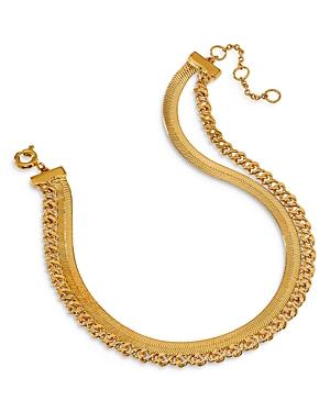 Nadri Lynx Double-Row Chain Bracelet