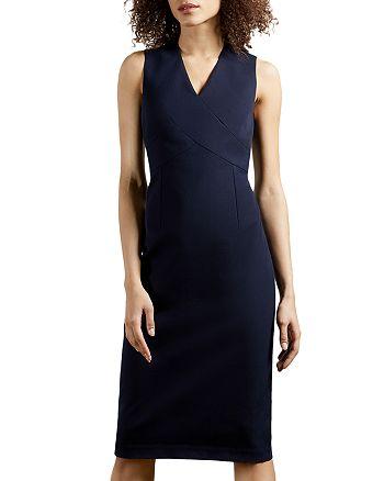 Ted Baker - Crossover Sheath Dress