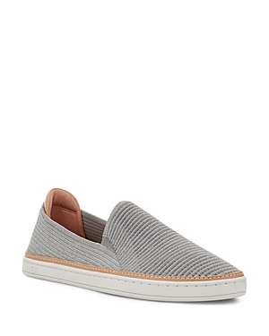 Ugg WOMEN'S SAMMY RIB KNIT SLIP ON SNEAKERS
