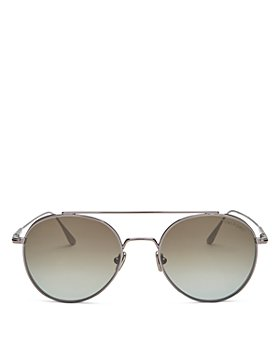Tom Ford - Unisex Declan Brow Bar Round Sunglasses, 52mm