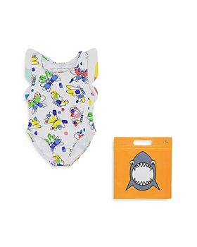 Stella McCartney - Girls' Butterfly One-Piece Swimsuit - Baby