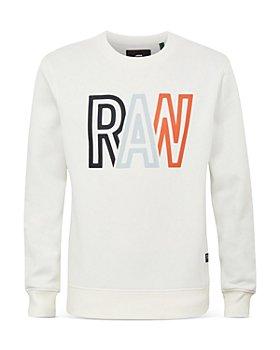 "G-STAR RAW - ""RAW"" Graphic Sweatshirt"