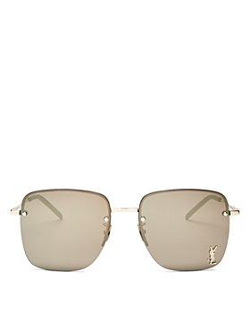 Saint Laurent - Women's Square Sunglasses, 58mm