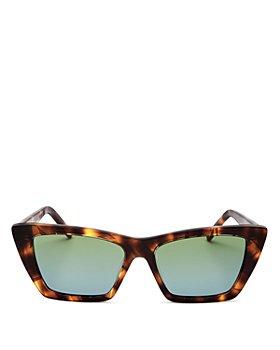 Saint Laurent - Women's Cat Eye Sunglasses, 53mm