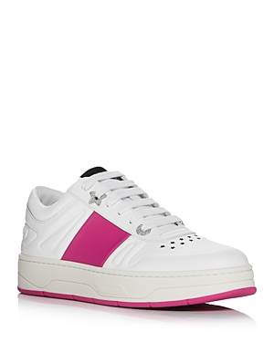 Jimmy Choo WOMEN'S HAWAII LACE UP SNEAKERS