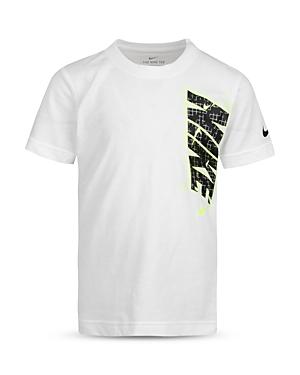 Nike T-shirts BOYS' GLOW IN THE DARK LOGO TEE - LITTLE KID