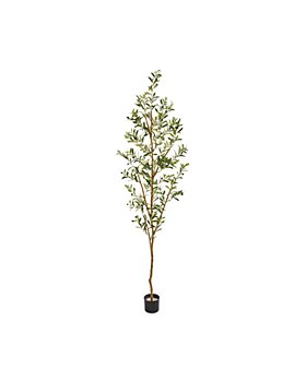 """Nearly Natural - 82"""" Artificial Olive Tree"""