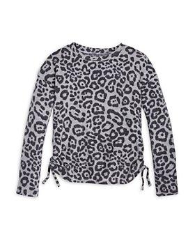 AQUA - Girls' Side Tie Sweatshirt, Big Kid - 100% Exclusive
