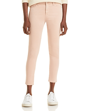 Ag PRIMA CROP JEANS IN SULFUR INFINITE MAUVE