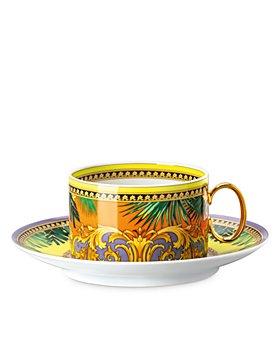 Versace - Versace Jungle Animalier Tea Cup & Saucer