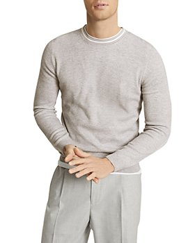 REISS - Krispin Ribbed Contrast Sweater