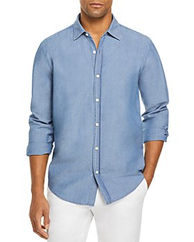 The Men's Store at Bloomingdale's - Chambray Shirt - 100% Exclusive