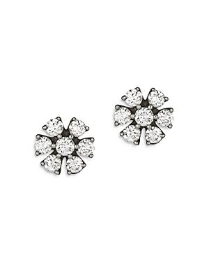 Bloomingdale's Diamond Flower Stud Earrings in 14K White Gold, 0.33 ct. t.w. - 100% Exclusive