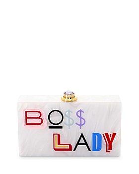 Sophia Webster - Cleo Boss Lady Box Clutch