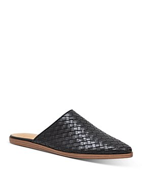 Marc Fisher LTD. - Women's Garren Woven Leather Mules