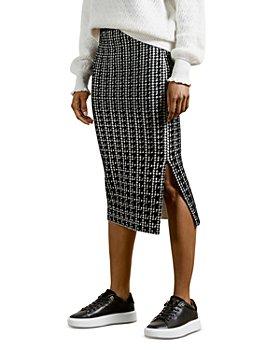 Ted Baker - Atlas Jacquard Skirt