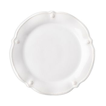 Juliska - Berry & Thread Whitewash Flared Dessert/Salad Plate