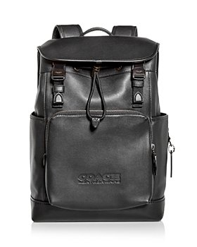 COACH - League Leather Backpack