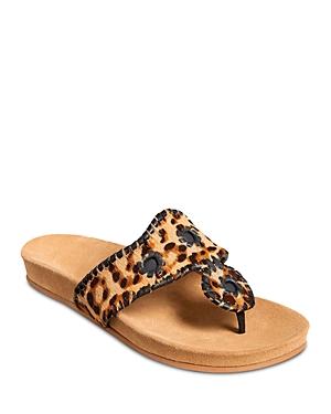 Women's Slip On Thong Sandals