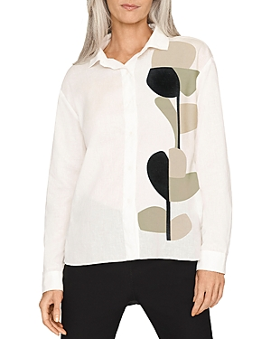 Organic Geo Button Front Top