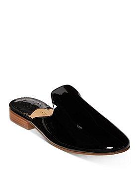 Jack Rogers - Women's Delaney Almond Toe Leather Slide Mules