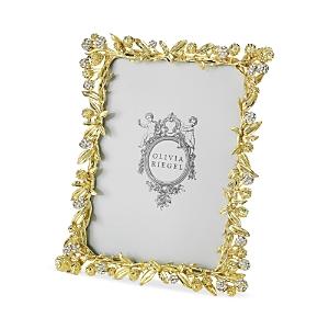 Olivia Riegel Gold Cornelia 5 x 7 Frame