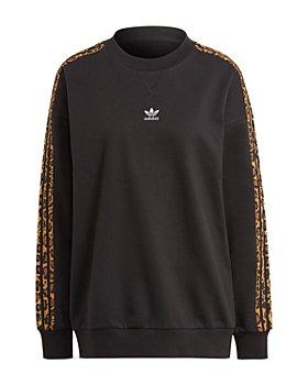 Adidas - Crew Leopard Stripe Sweatshirt