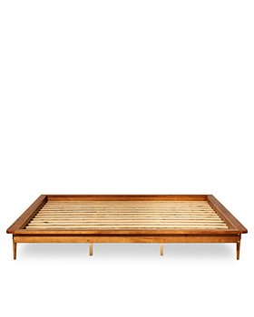 Sparrow & Wren - Ryan King Wood Platform Bed Frame