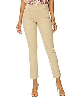 NYDJ - Pull On Skinny Ankle Jeans in Optic White