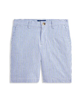 Ralph Lauren - Boys' Suffield Seersucker Striped Shorts - Little Kid, Big Kid