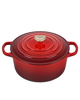 Le Creuset - 3.5 Qt Round Dutch Oven with Heart Knob