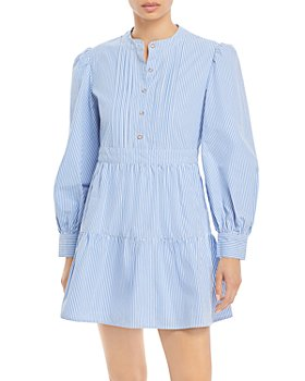 Rahi - Sydney Striped Mini Shirt Dress