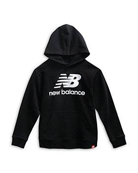 New Balance - Boys' Logo Pullover Hoodie - Little Kid, Big Kid