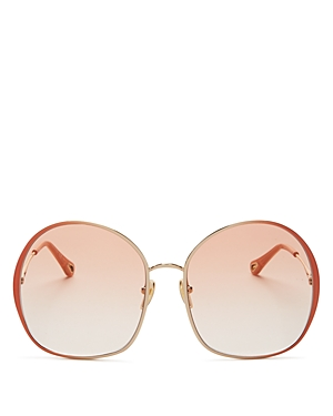 Chloé WOMEN'S ROUND SUNGLASSES, 62MM