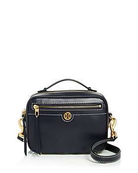 Tory Burch - T Monogram Small Leather Camera Crossbody