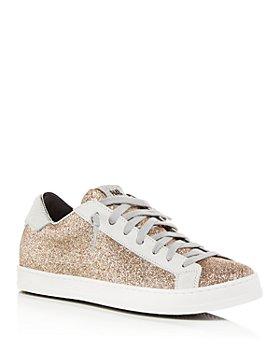 P448 - Women's John Glitter Sneakers