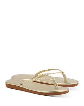 Ancient Greek Sandals - Women's Plage Braided Leather Flip-Flops