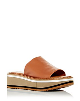 Clergerie - Women's Fast Platform Slide Sandals