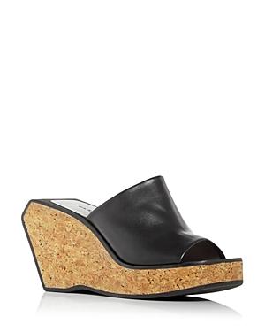 Clergerie Women's Emilia Platform Wedge Slide Sandals