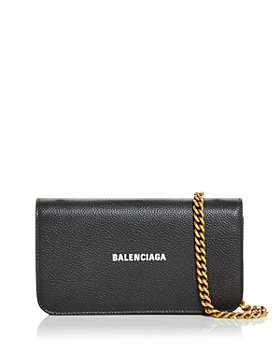 Balenciaga - Cash Leather Phone Chain Wallet